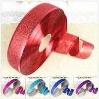 200cm glitter ribbon packing crafts bowknot making christmas decoration tree pendant diy multifunction handmade material