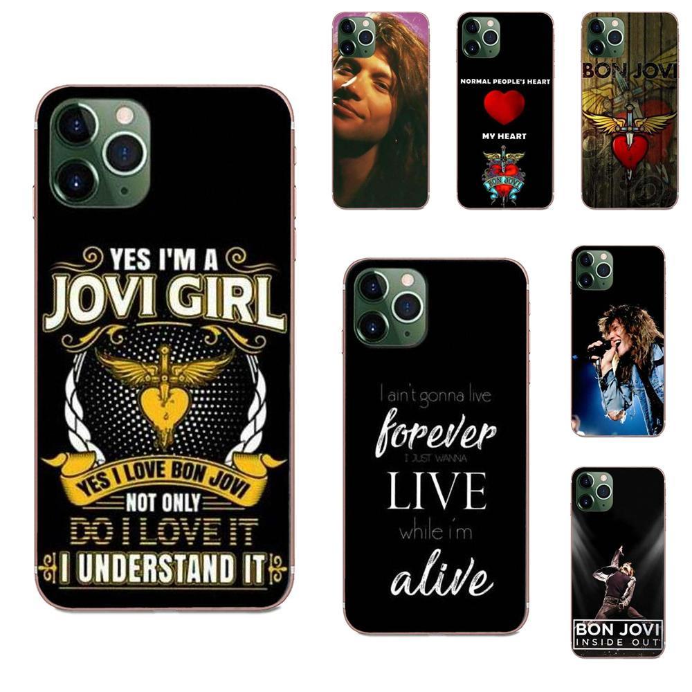 Para Galaxy Alpha Nota 10 Pro A10 A20 A20E A30 A40 A50 A60 A70 A80 A90 M10 M20 M30 M40 Hotsales Jon Bon Jovi Rocha Projeto TPU Macio