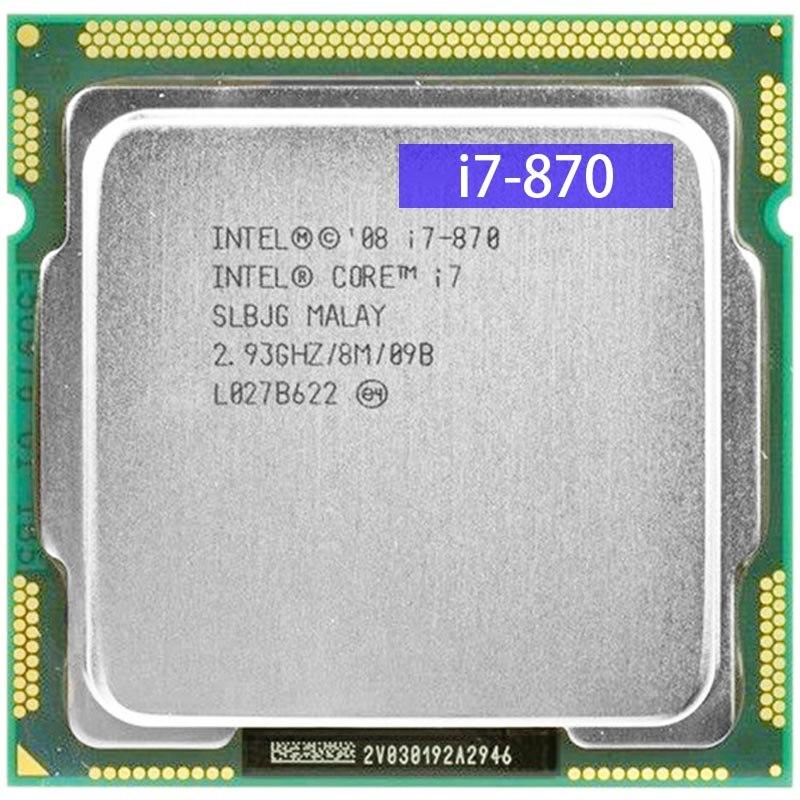 LGA 1156 Asus P7P55D + CPU Intel i7 870 16GB DDR3 SATA II 2.93GHz Intel P55 Desktop P55 Placa-Mãe 1156 Overlocking Used ATX