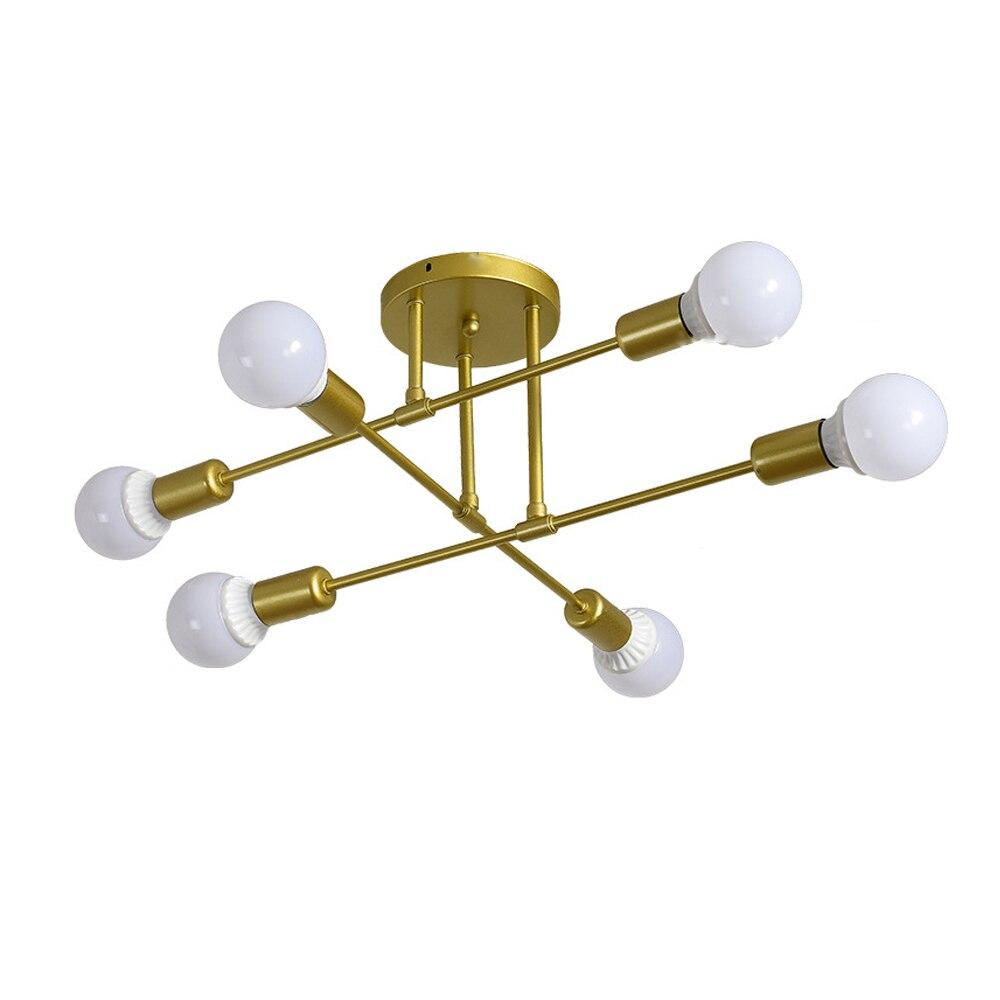 Morden Ceiling Chandelier Golden Droplight Decoration Lamp Nordic Black Led Ceilling Lights for Living Room Bedroom Indoor enlarge