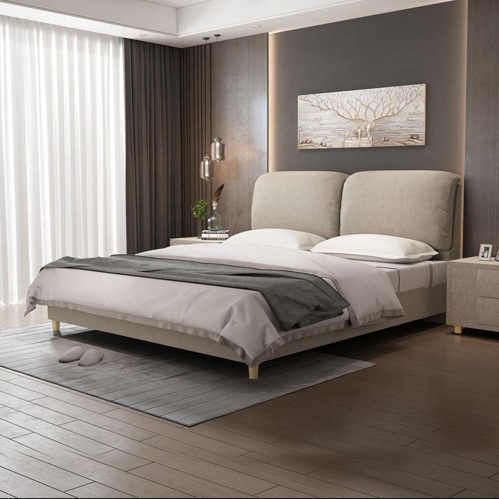 RAMA DYMASTY  fashion fabric soft bed modern design bed bett, cama fashion king/queen size bedroom furniture