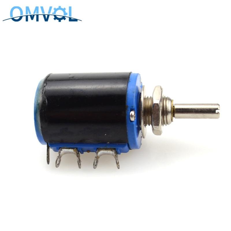 WXD3-12-1W 100, 220, 470, 1K 2K2 4K7 10K 22K 47K Ohm 100R 220R 470R 2,2 K 3,3 K 4,7 K WXD3-12 1W bobinado potenciómetro