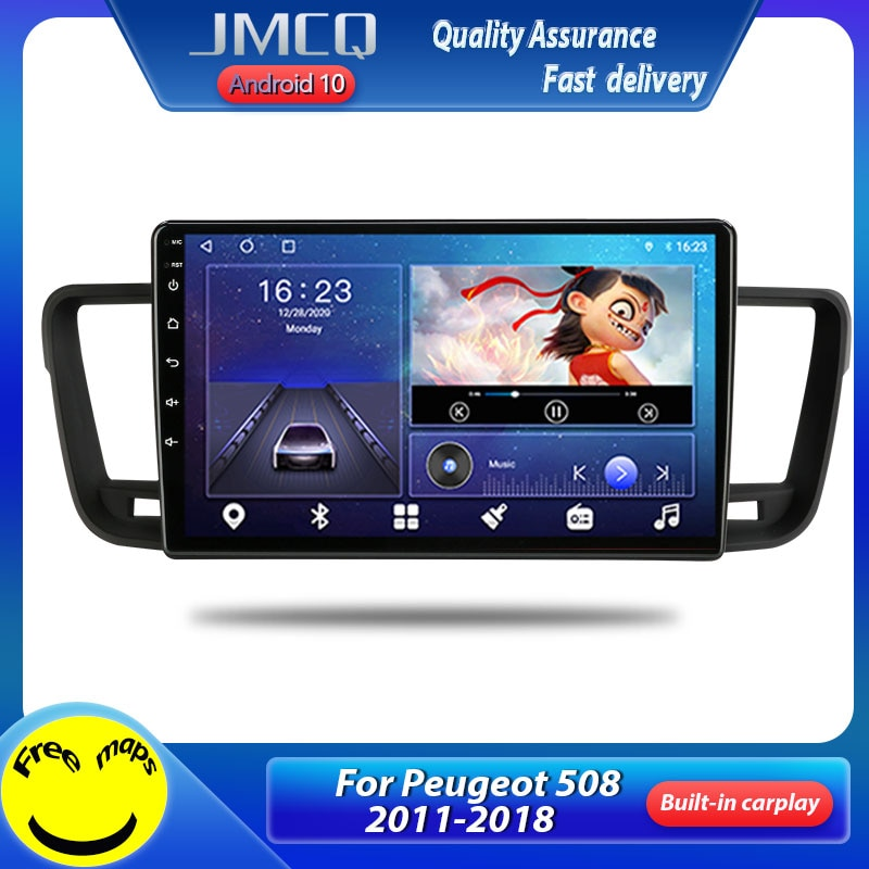 JMCQ T10 2 din Android 10 auto Radio Multimedia reproductor de vídeo...