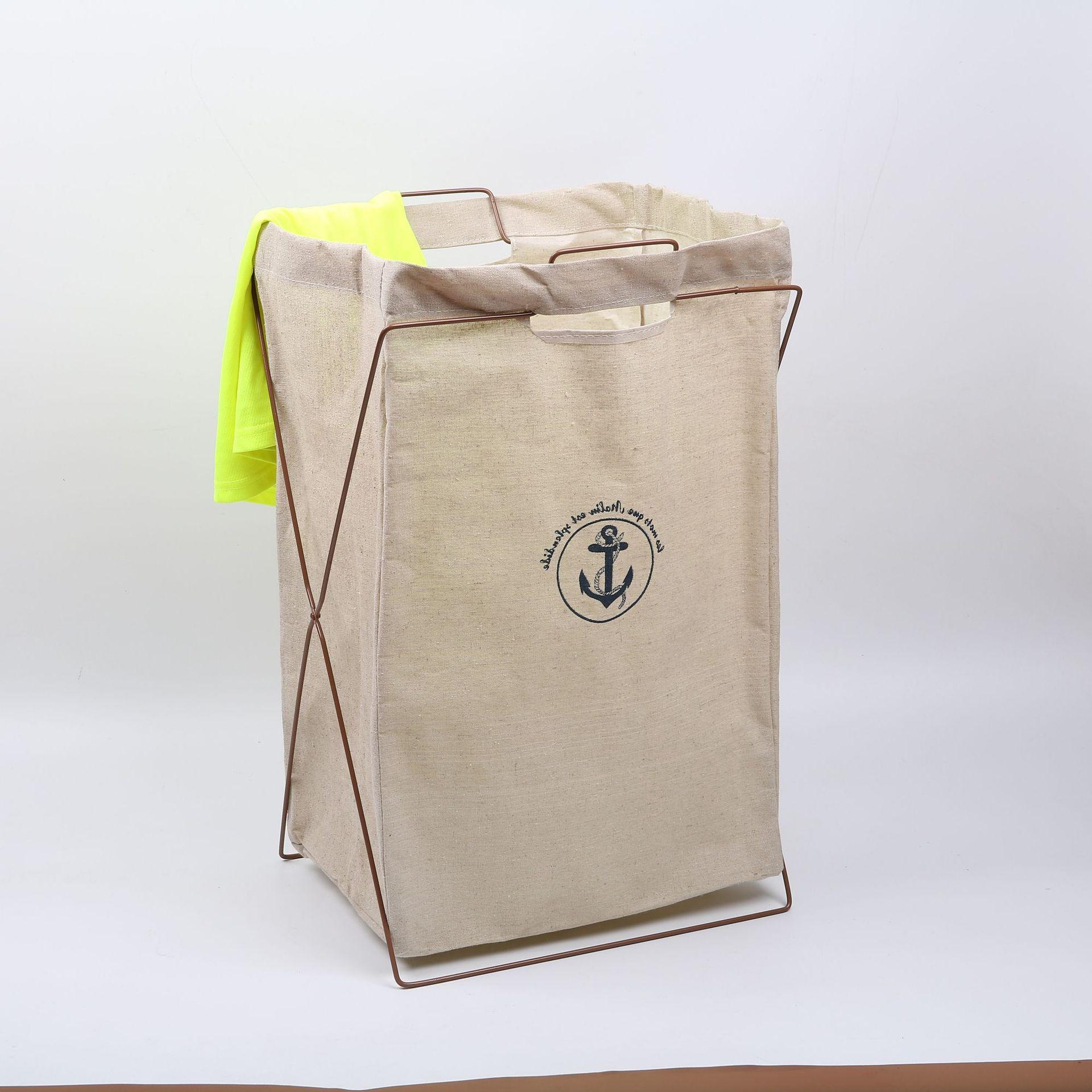 Shushi/shushi casa dobrável tecido cesta de roupa roupa suja roupa do banheiro ferro cesta armazenamento