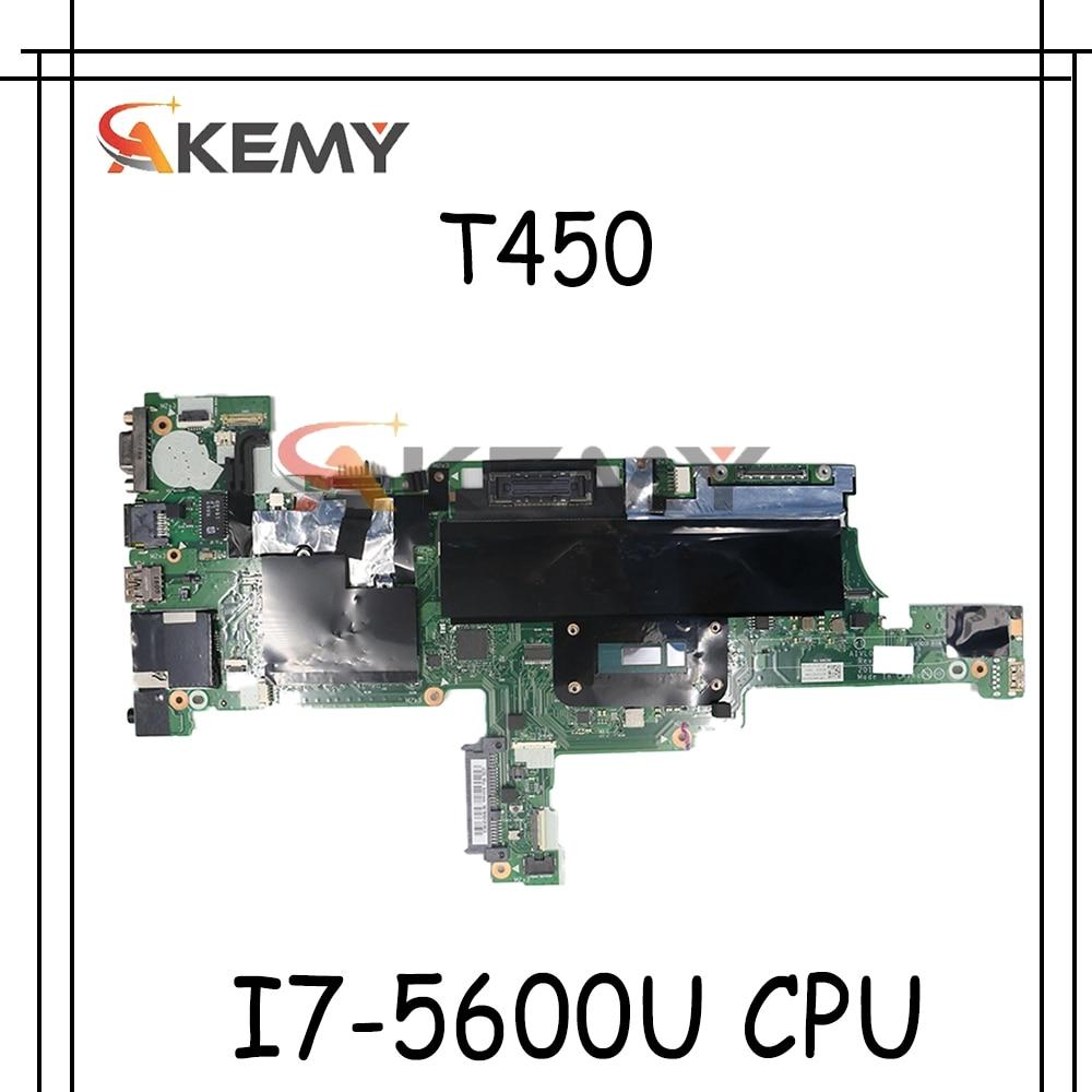 اللوحة لابتوب لينوفو ثينك باد T450 I7-5600U اللوحة AIVL0 NM-A251 00HN531