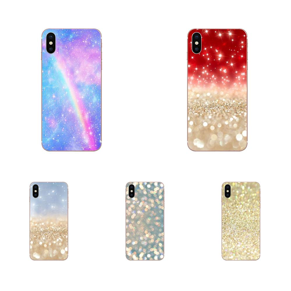 Obra de arte Pastel brillo Kawaii para Xiaomi Redmi Mi 4 7A 9T K20 CC9 CC9e Nota 7 9 Y3 SE Pro primer jugar a casos de teléfono