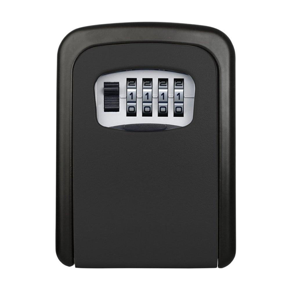 Password Key Box Large Size Decoration Key Code Box Key Storage Lock Box Wall Mounted Password Box Outdoor Key Safe Lock Box недорого
