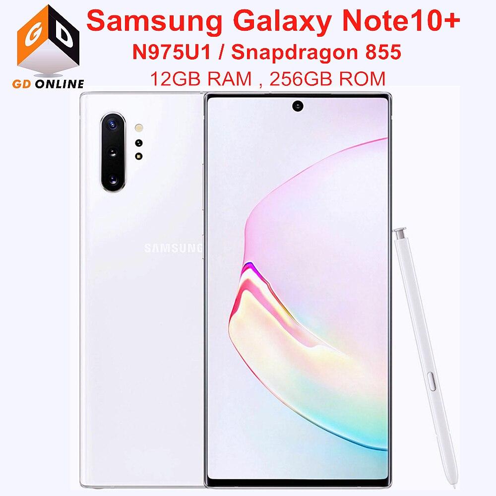 Samsung Galaxy Nota 10 Plus N975U1 Note10 + N975U 256GB ROM 12GB...