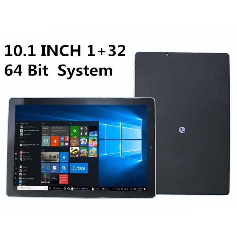 64 Bit 1GB RAM 32 Bit 2G RAM 32GB ROM 10.1'' Windows 10 NX16A X5- Z8350 CPU Dual Camera WIFI  5000mAh Quad Core 1280 x 800 IPS