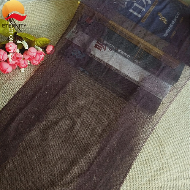 *26cm L1091 anti-static stretch nylon mesh African stretch lace underwear fabric accessories garment underwear