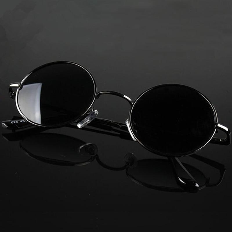 New Brand Designer Classic Round Sunglasses Men Small Vintage Retro John Lennon Glasses Women Drivin
