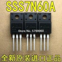 10pcs/lot SSS7N60A TO-220F FET 7A 600V transistor