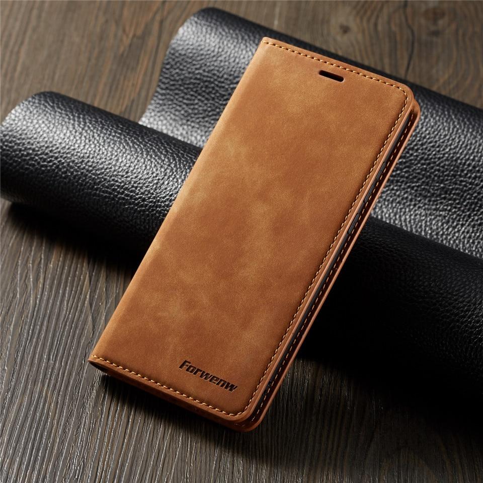 Funda de teléfono con tapa magnética para Huawei Mate 20 30 P20 Mate20 P30 Pro Lite Nova 3e Etui tarjetero de cuero fundas con soporte y cartera