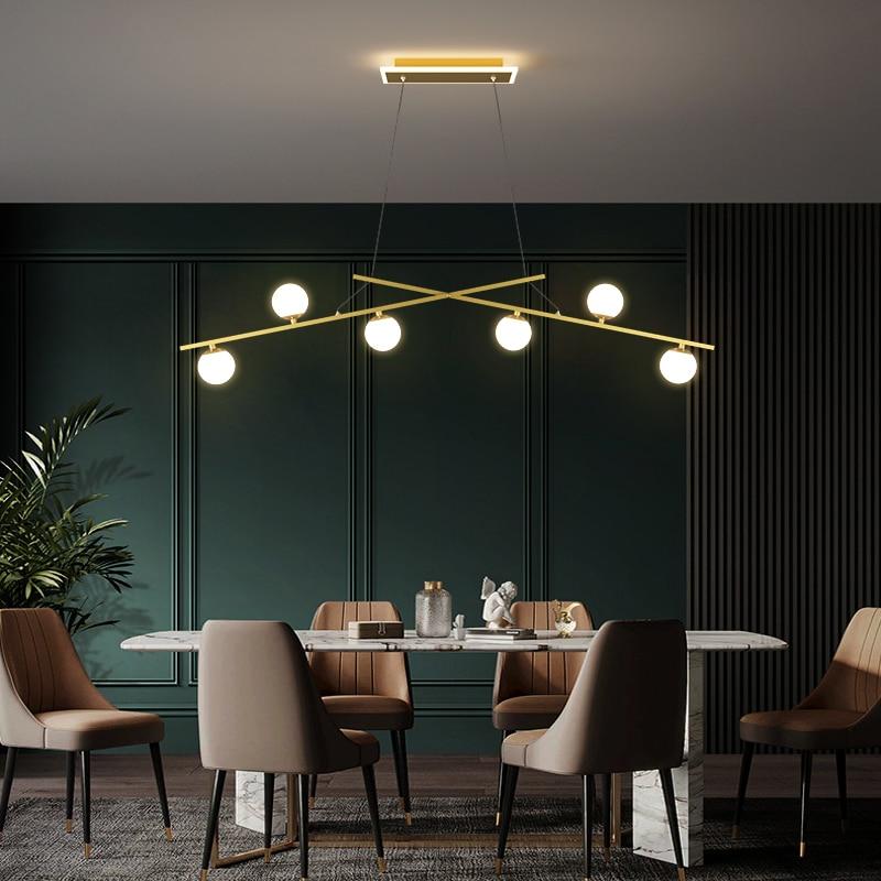 الحديثة أضواء غرفة الطعام جزيرة الثريا الشمال المطبخ غرفة المعيشة مطعم الإضاءة الزخرفية بار LED مصباح معلق