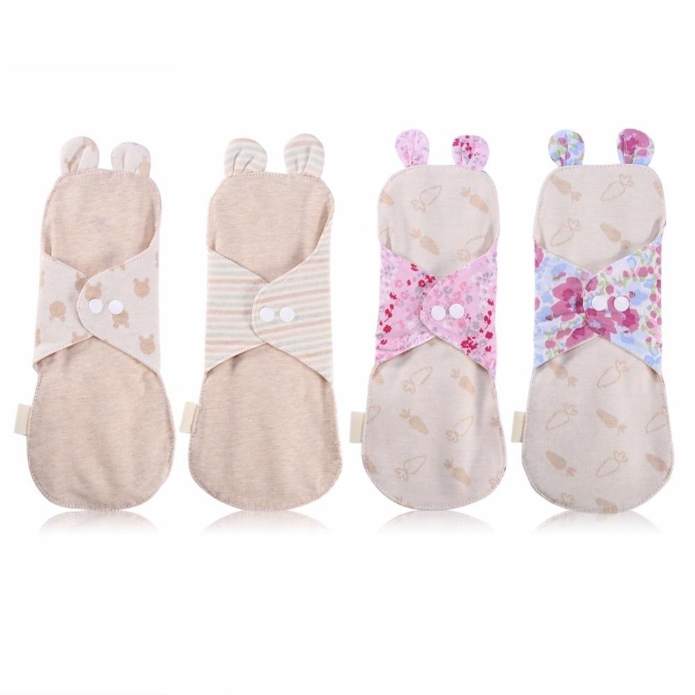 1 Uds. Almohadillas para mujeres lavables orgánico compresa sanitaria femenina reutilizable Menstrual Pad Panty Liner Sanitary Pad Pantiliners