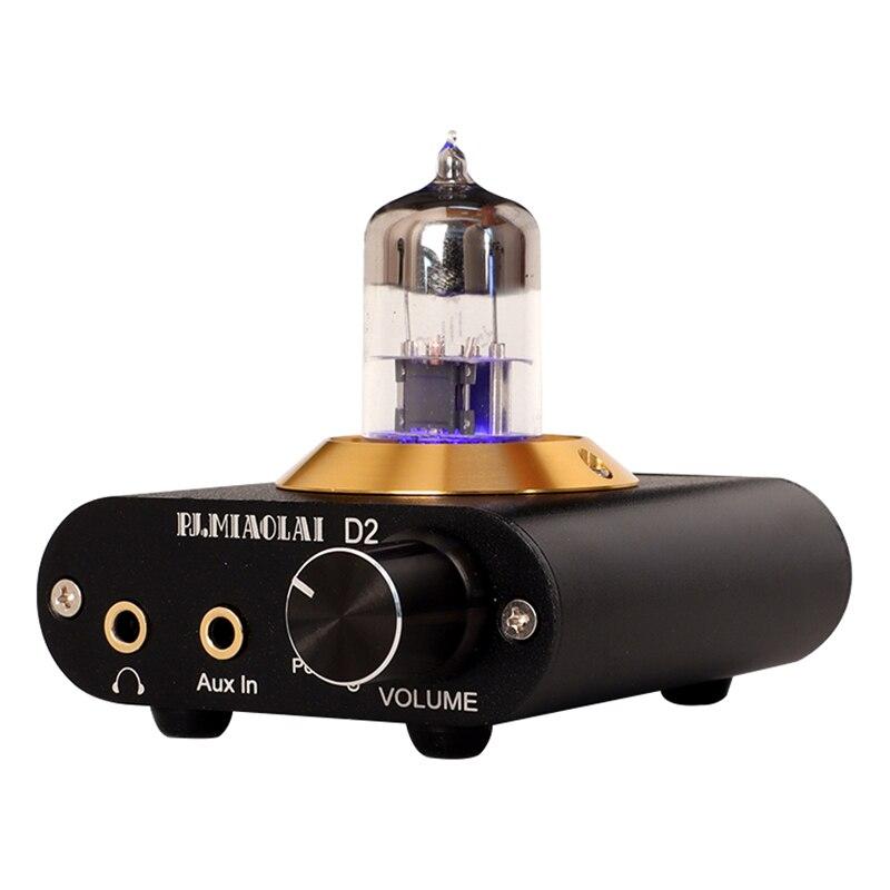 2020 nuevo muy buen sonido Amplificador para auriculares 6N3 tubo de Audio...