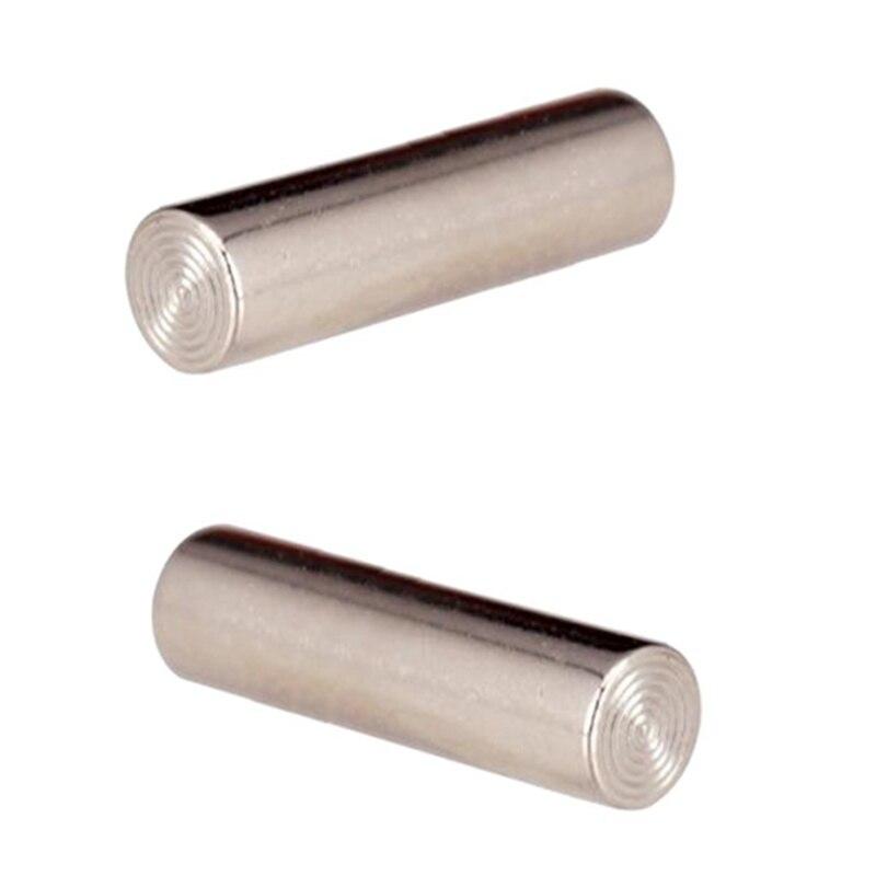 Pack de 12 unidades de barras de Metal profesionales para pastilla, barras magnéticas para guitarra eléctrica de 18mm
