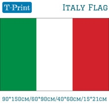 10 шт. флаг 90*150 см/60*90 см/40*60 см/15*21 см итальянский флаг для Кубка мира Национальный день Олимпийских игр