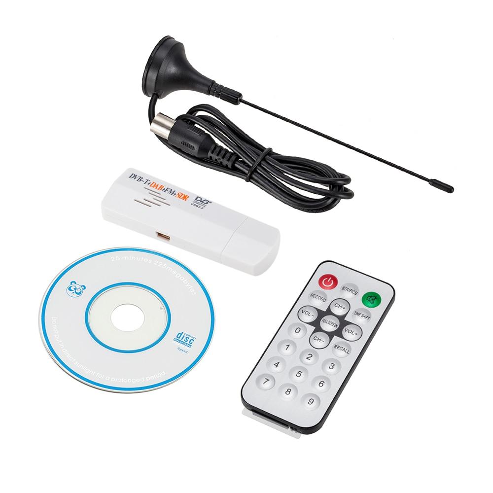 ГОРЯЧАЯ 1080P USB Беспроводная передача автомобиля Аудио Видео Захват ТВ Карта RTL2832U + R820T DVB-T тюнер приемник