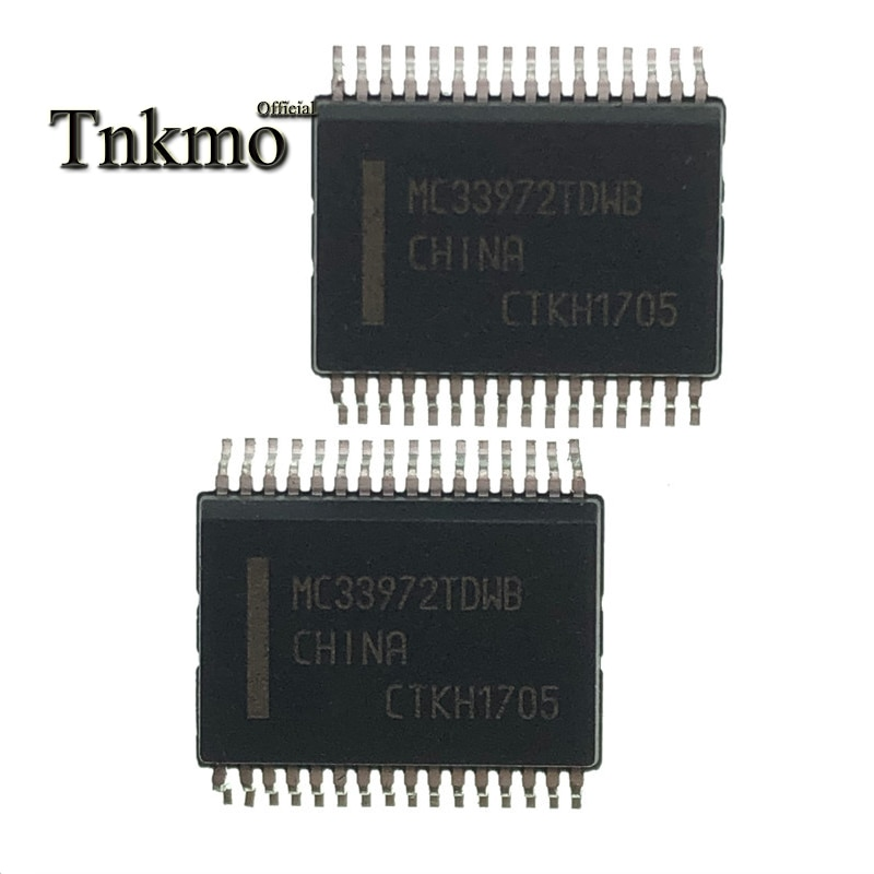 10 Uds MC33972TDWB SSOP-32 MC33972T SSOP32 MC33972 33972TDWB 33972 informática automotriz de chip nuevo y original