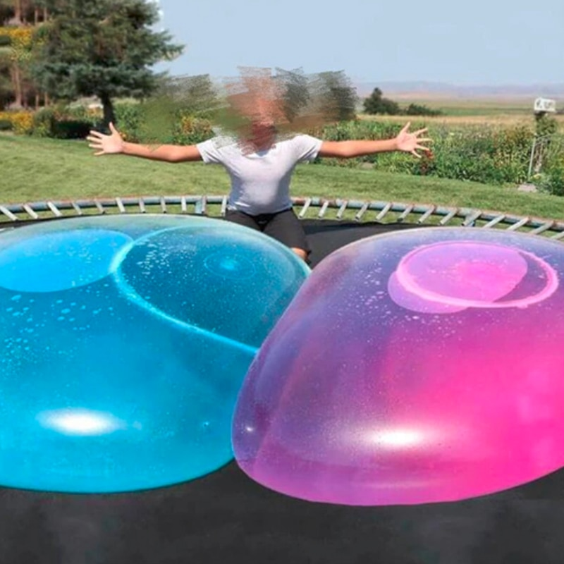 AliExpress - 1pcs  Inflatable Water Balloon Ball 0.7m 1.2m aquapark TPR Bubble Ball Without Air Pump Outdoor Water Park Parent-child Toys