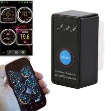Mini V2.1 ELM327 Bluetooth ELM 327 OBD2 OBD ii CAN-BUS   Outil de Diagnostic, voiture, Scanner, interrupteur fonctionne sur Android Symbian, Windows