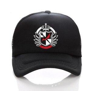 anime Danganronpa Printing Cotton Sport unisex Accessories Cosplay women men Cap Summer Snapback hat