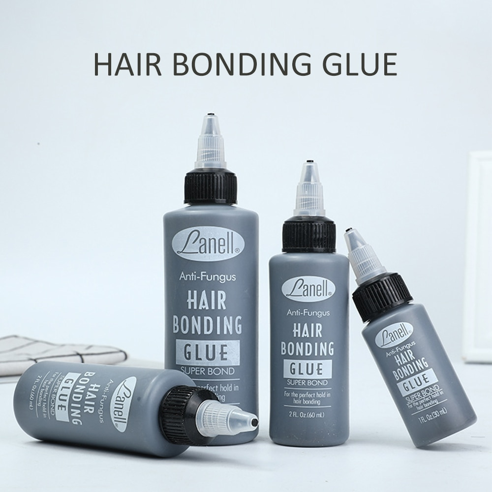 60ml Waterproof Anti Fungus Hair bonding glue super bond the perfect hold in hair bonding Strong Hold Lace Front Wig Glue