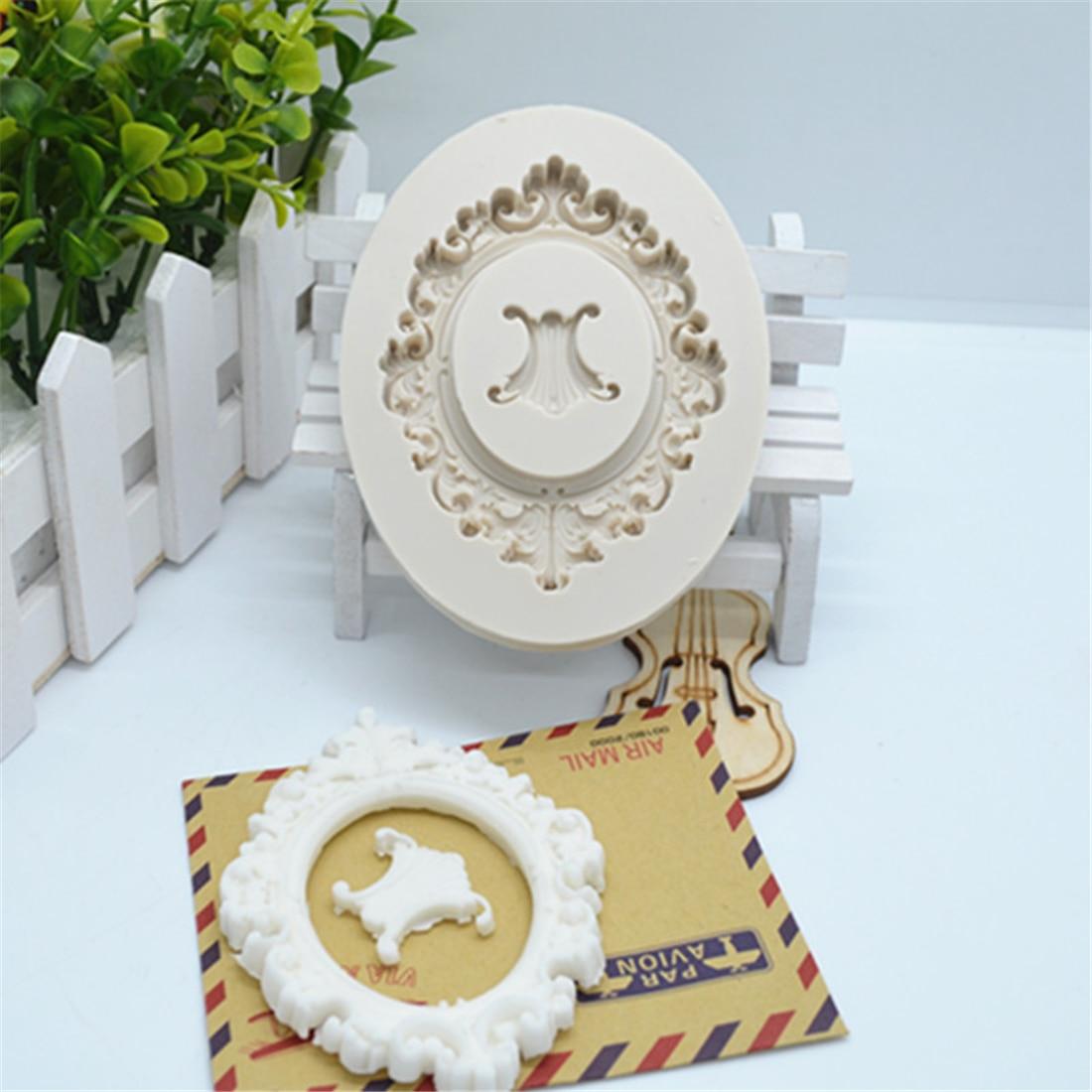 Цветочная кружевная форма для торта, помадки из смолы, инструменты для украшения тортов, «сделай сам», кондитерские аксессуары для кухни, вы...
