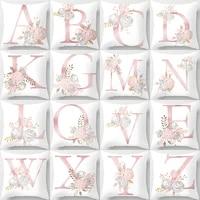 4 pieces set cushion cover home decor pillowcase 45x45 decorative throw pillows for sofa elegant nordic personalized gift