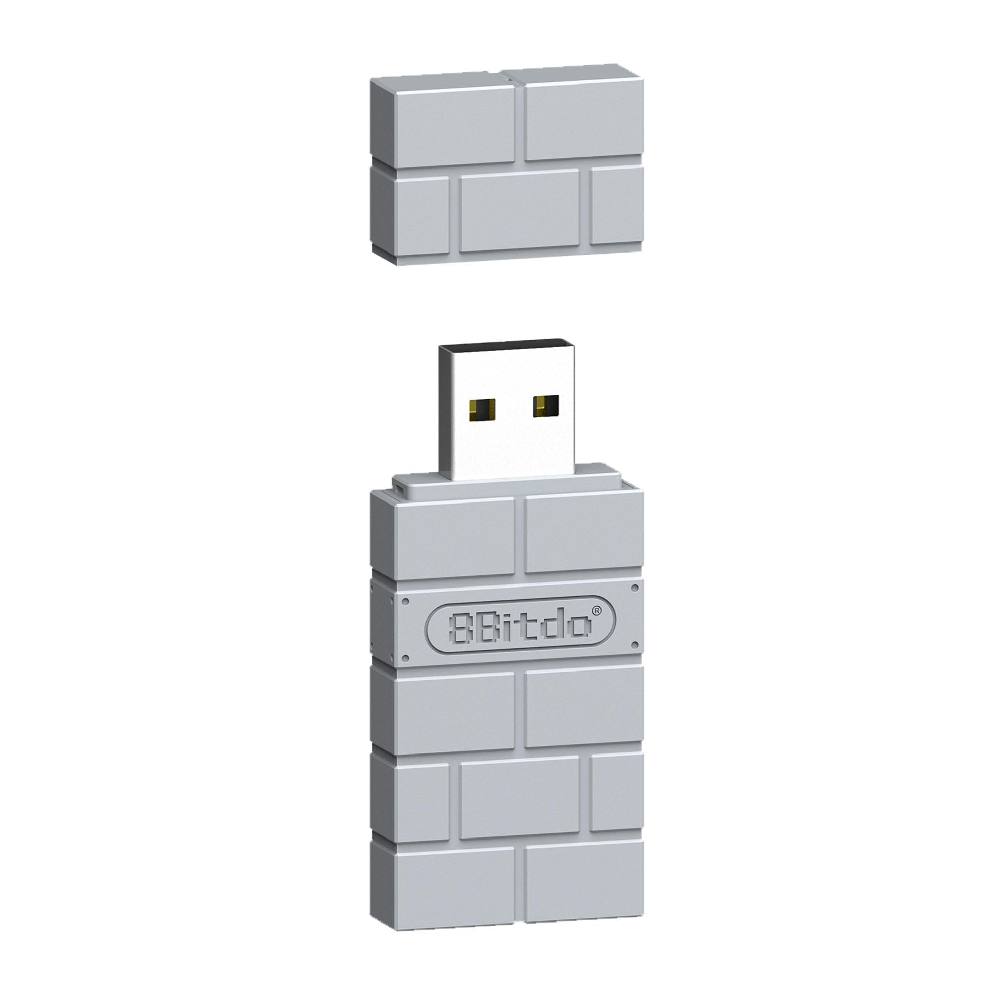 BEESCLOVER inalámbrico 8Bitdo adaptador USB de Bluetooth receptor USB para Nintend Cambiar...