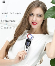 Глубокое удаление макияжа лица лифтинг и затягивание, красный и синий светильник, чистящий прибор для массажа лица, ведущий в инструменте