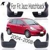 Ensemble de garde-boue avant et arrière moulé pour Honda Fit Jazz Hatchback 2006 2007 2008