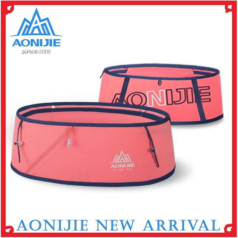 AONIJIE W8101 Hydration Running Belt Marsupio Waist Pack Travel Run Bag Trail Marathon Gym Workout Fitness Mobile Phone Holder
