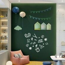 45/60x100cm magnética pizarra para pared pegatinas tiza para niños dibujo nota Junta oficina verde auto-adhesivo extraíble