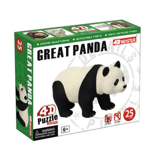 4D panda ensamblado modelo anatómico Compras gratis