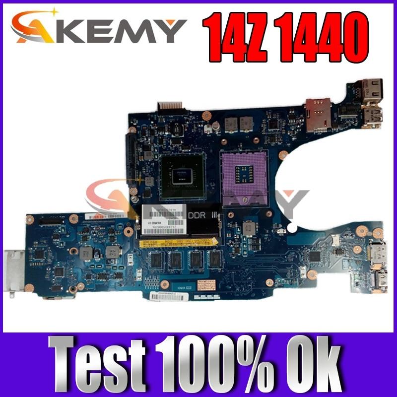 Akemy ل ديل استوديو 14Z 1440 اللوحة المحمول CN-0Y348N 0Y348N KCM00 KCM00 LA-4631P MCP79MX-B2 DDR3 شحن وحدة المعالجة المركزية