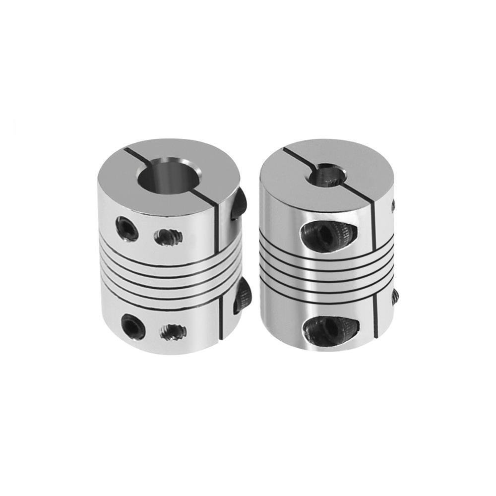 1PCS 3D Printer Parts Flexible Coupling stepper servo motor coupling D20 L25 5x8x25mm for 3d printer T8 lead screw