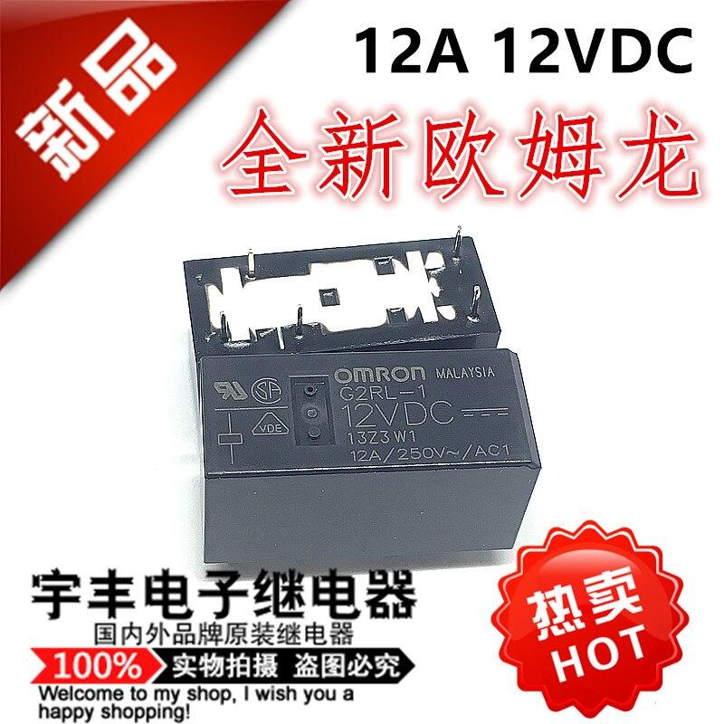 5PCS/LOT  G2RL-1 -2 -1A -5VDC 12VDC  G5RL-1A G2RL-1A-E