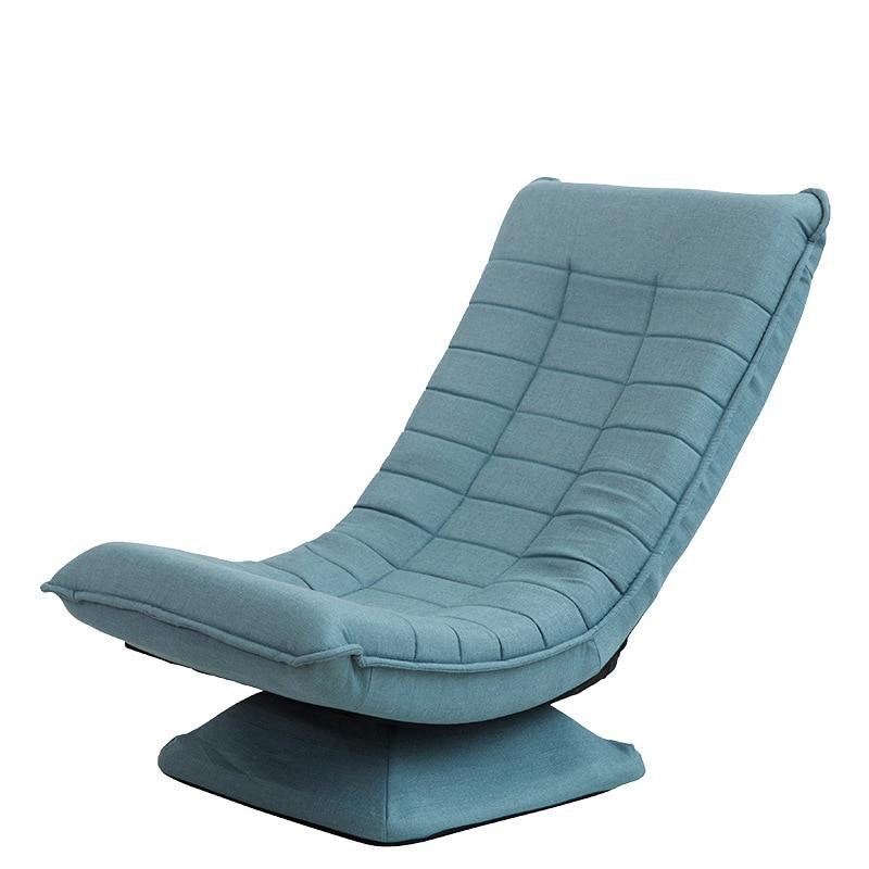 Silla de Luna asientos cama plegable para bebé chico s adultos sofá chico silla suave tela giratoria Chaise Lounge sofá silla japonesa