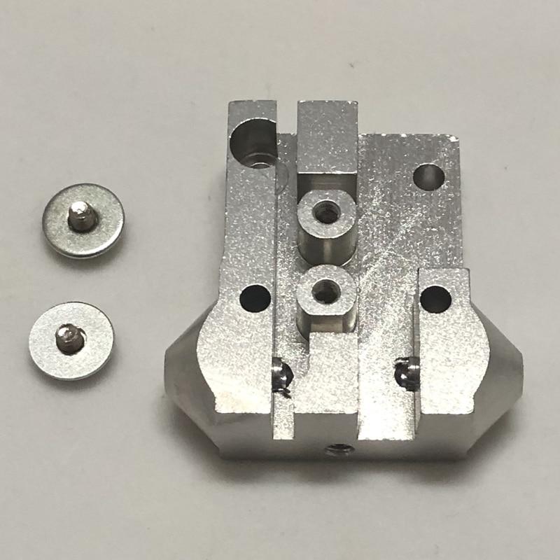 3D printer aluminium Slide Tackle 20*20mm Effector M4/m3 mini carriage For Reprap Delta Kossel Closed Loop Belt