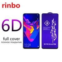 rinbo full tempered glass for huawei enjoy 10 20 plus pro z nova 3 3i 4 5 5i 5t 5z 6 7 7se screen protector p20 p40 lite 5g film