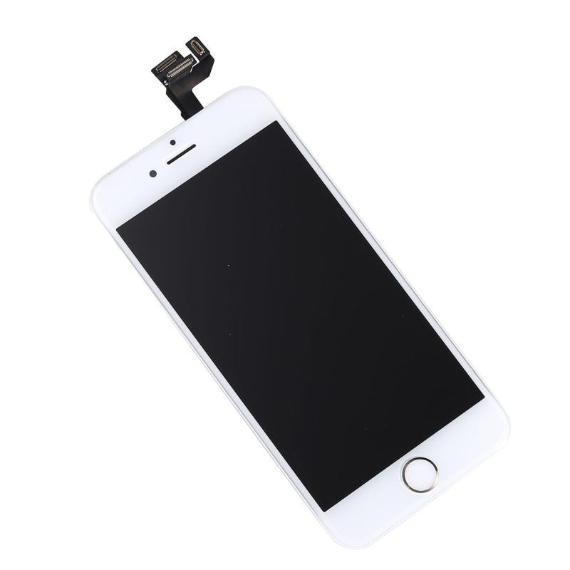 Framed LCD Assembly Home Button Front Camera Earpiece For IPhone 6S 4.7 Mobile Phone LCD Screens Accessories Mobile Phone Parts enlarge