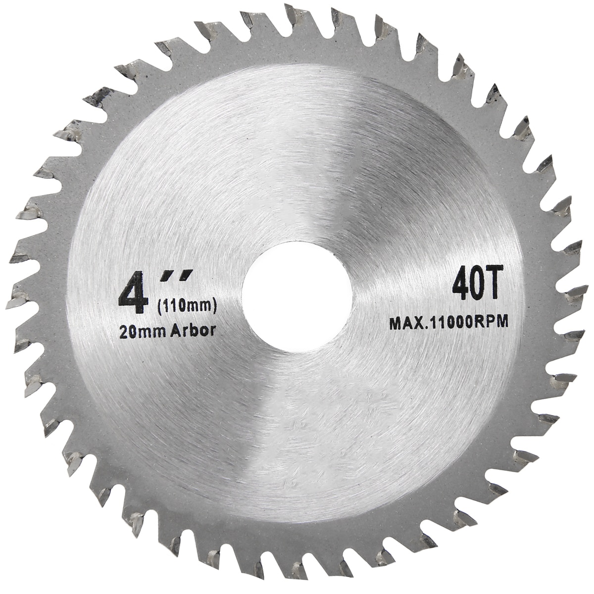 4 Inch 40 Teeth Grinder Ultra Saw Disc Circular Sawing Blade Wood Cutting Round For Woodworking Hand Power Tools Accessories