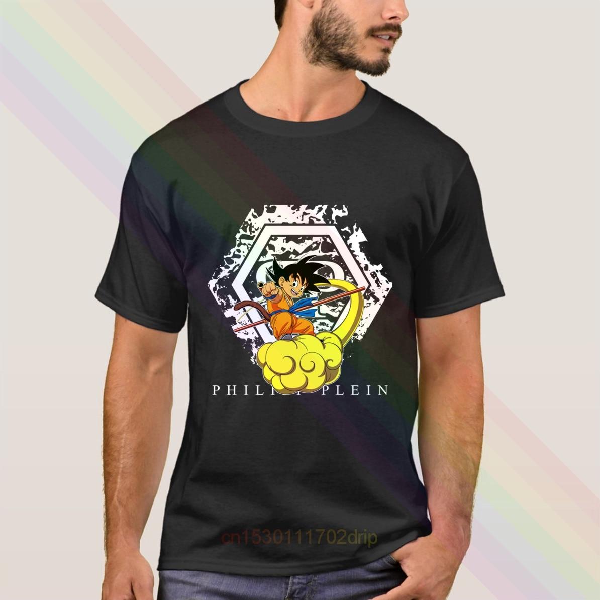 Dragon Ball Goku Kintoun Plein camiseta 2020 más reciente verano hombres de manga corta Popular camisetas Tops Unisex