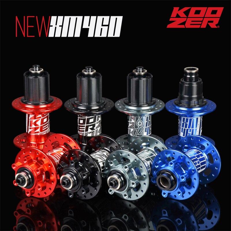 Neueste Koozer XM460 72 km 6 Klinken 32H Mtb CNC Mountainbike disco Naben 8 9 10 11S XD Kassette Körper 10X135 QR MINI 12X142