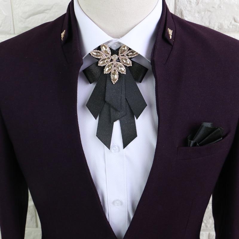 I-Remiel papyon ilmek broş kumaş şerit pimleri ve broşlar bluz Harajuku yaka dekorasyon rahat kadın Broches takı
