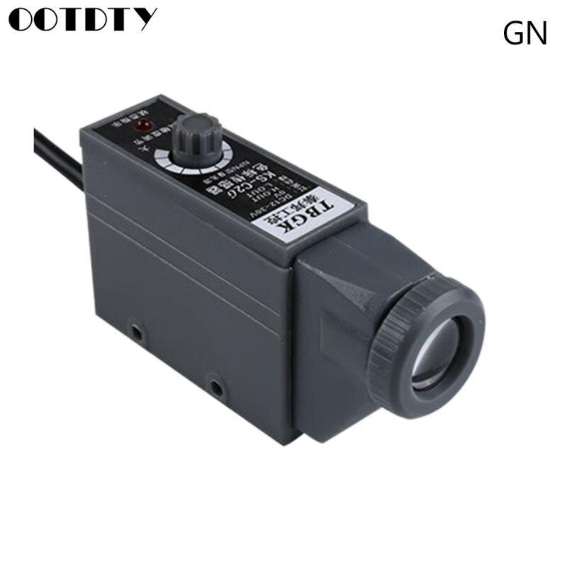 رمز اللون الاستشعار KS-C2W/C2G علامة كشف الكهروضوئي التبديل حساسية عالية المواقع تتبع اللون علامة