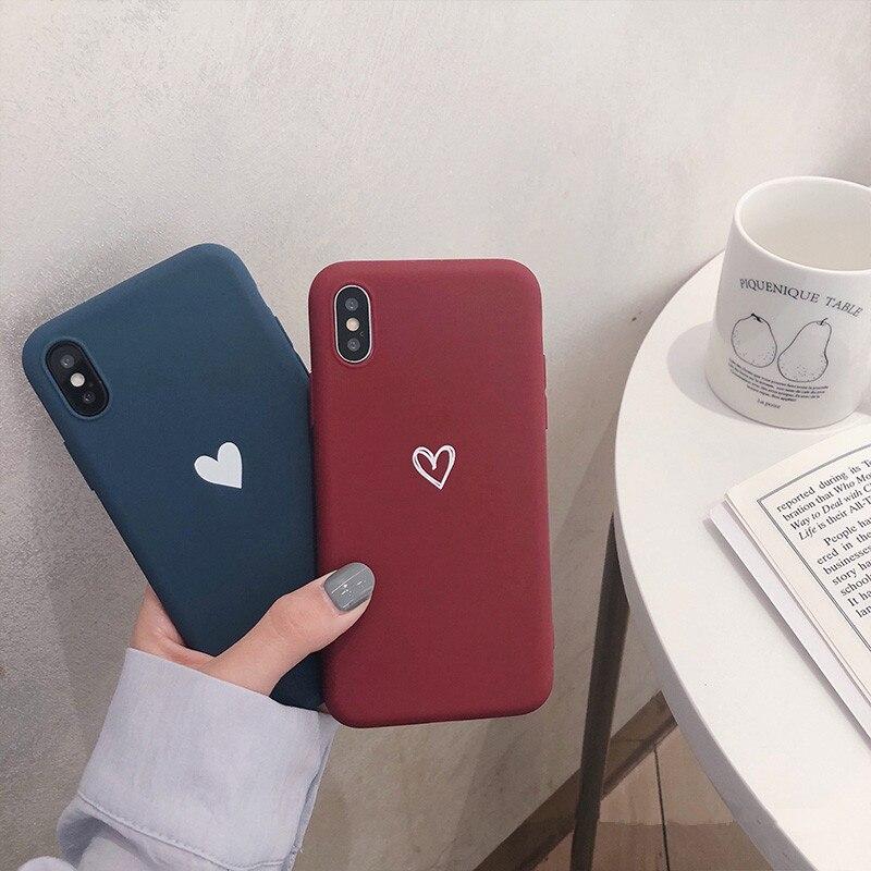 Funda de silicona suave Color caramelo amor corazón para Samsung Galaxy A50 A 50 2019 A505 A505F SM-A505F A30 A50S A10 bonita funda de Animal
