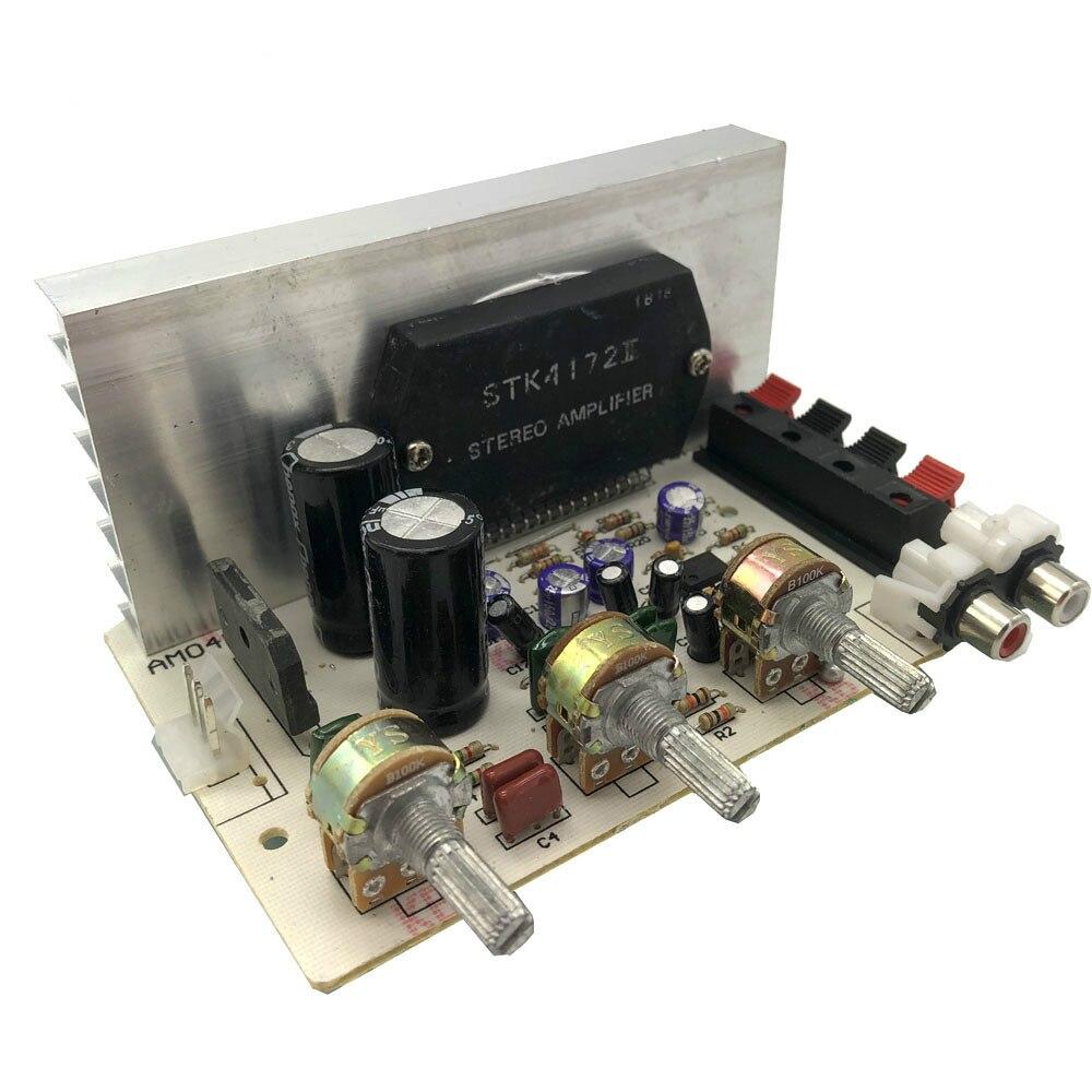 Lusya Sanyo толстая пленка чип 50 Вт + 50 Вт стерео аудио усилитель мощности доска для DIY динамик AC15-18V E1-006
